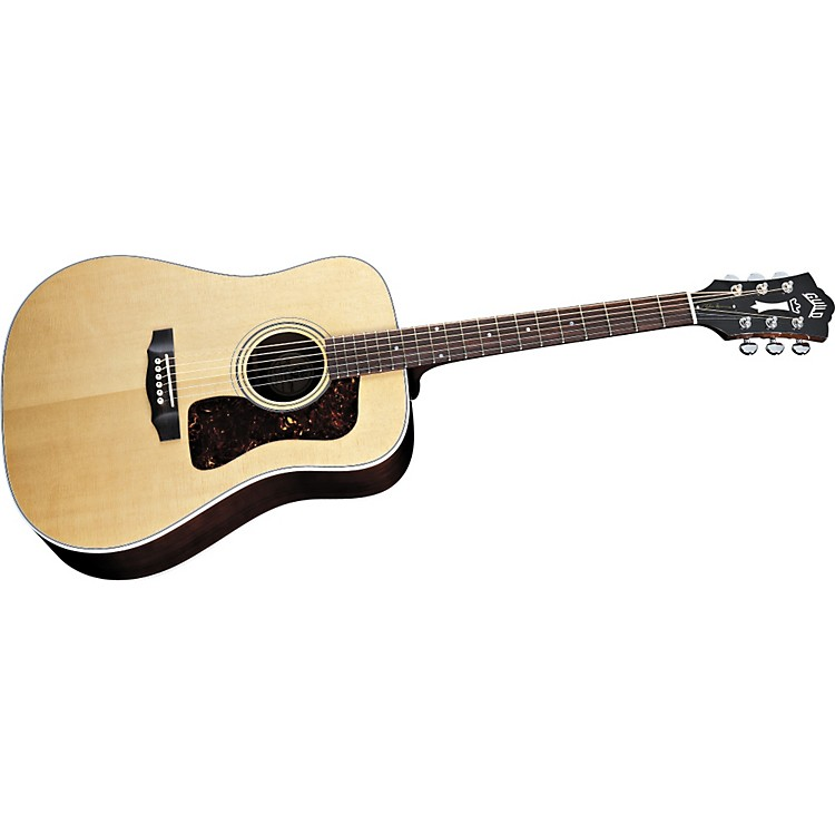 Guild D40 Richie Havens Signature Dreadnought Acoustic Guitar With Case Natural