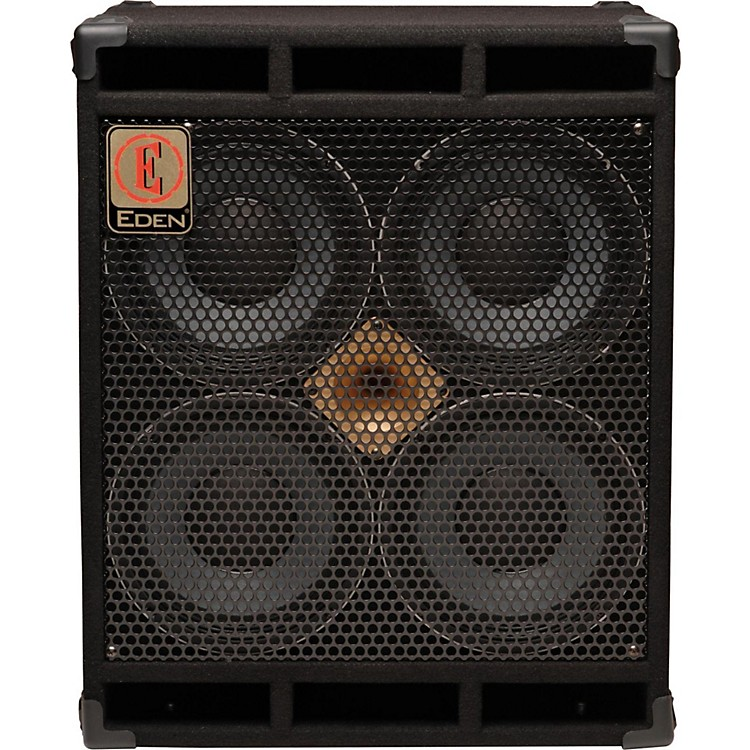 Eden D410XLT Speaker Cabinet with Tweeter  4OHM