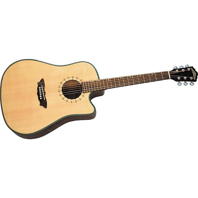 washburn d46sce southwest dreadnought cutaway acoustic electric guitar w case music123. Black Bedroom Furniture Sets. Home Design Ideas