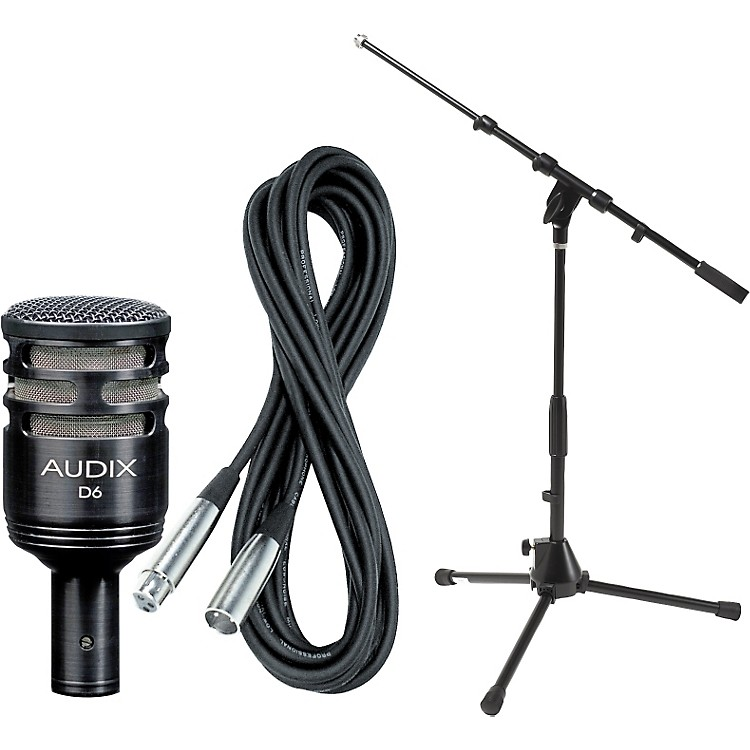 AudixD6 Kick Drum Mic with Cable and Stand