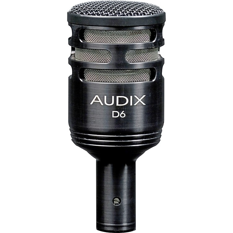 Audix D6 Sub Impulse Kick Drum Mic Black