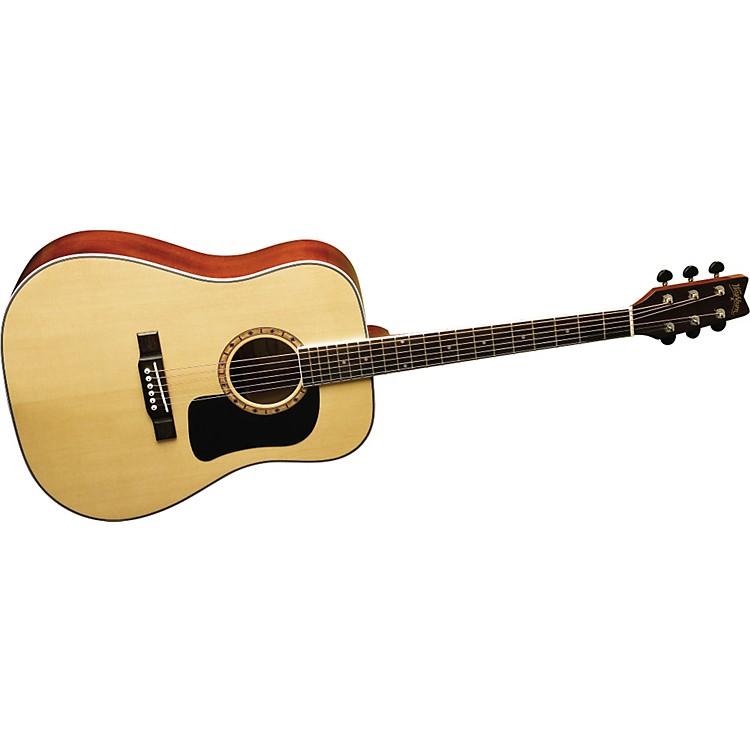 washburn d9 dreadnought acoustic guitar music123. Black Bedroom Furniture Sets. Home Design Ideas