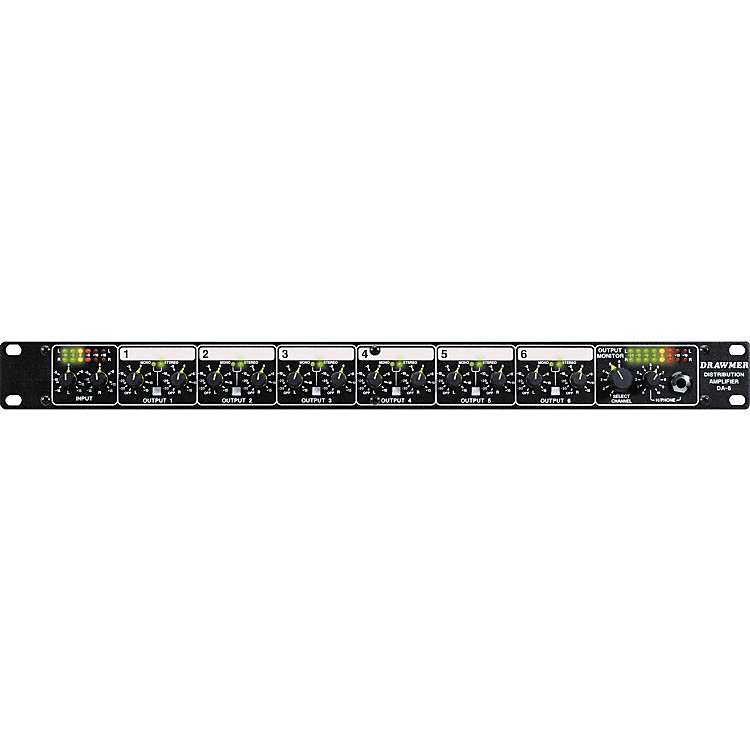 Drawmer DA6 Balanced Distribution Amplifier