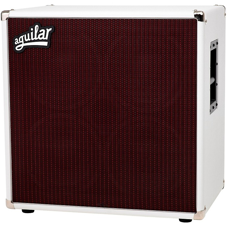 Aguilar DB 410 700W 4x10 4 Ohm Bass Speaker Cabinet White Hot