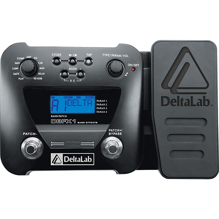DeltaLab DBFX1 Bass Multi Effects Pedal