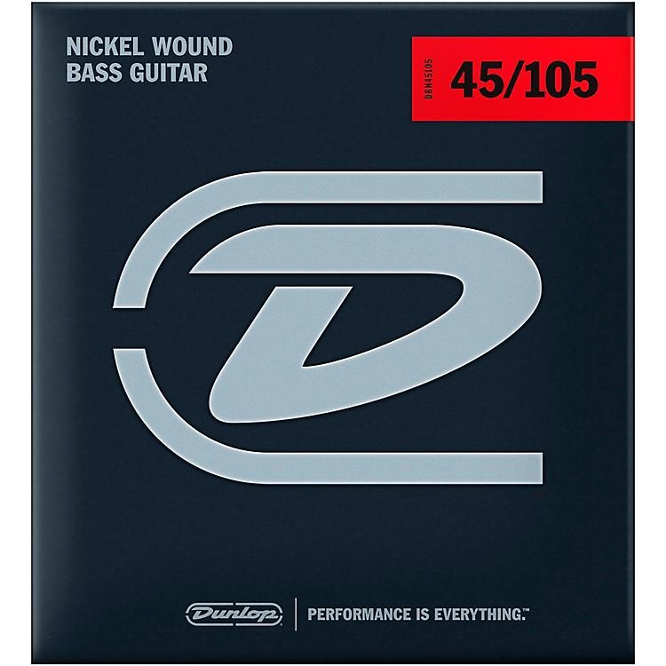 DunlopDBN45105XL Bass-NKL 45/105 Extra-Long Scale 4-String Set