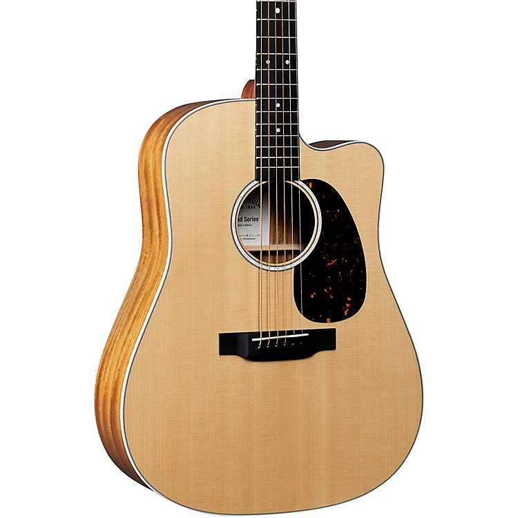 Martin DC-13E Road Series Dreadnought Acoustic-Electric Guitar Natural