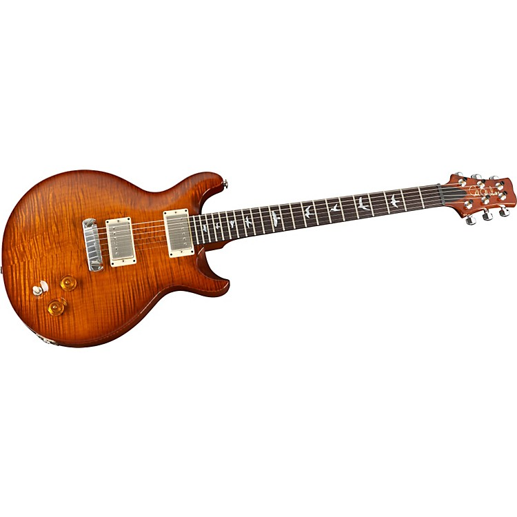 PRSDC 22 10-Top with Bird Inlays Electric GuitarViolin Amber Sunburst