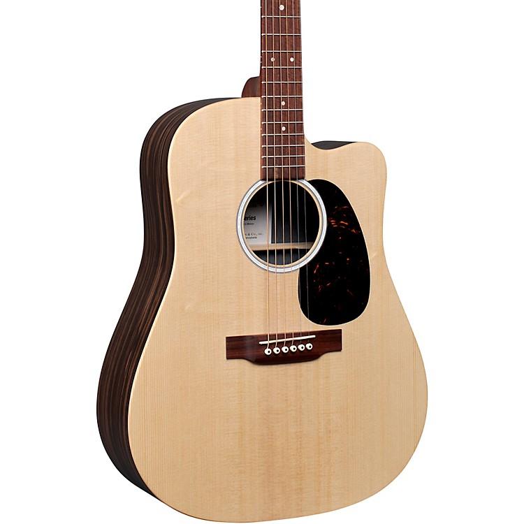 MartinDC-X2E Macassar Ebony Dreadnought Acoustic-Electric GuitarNatural