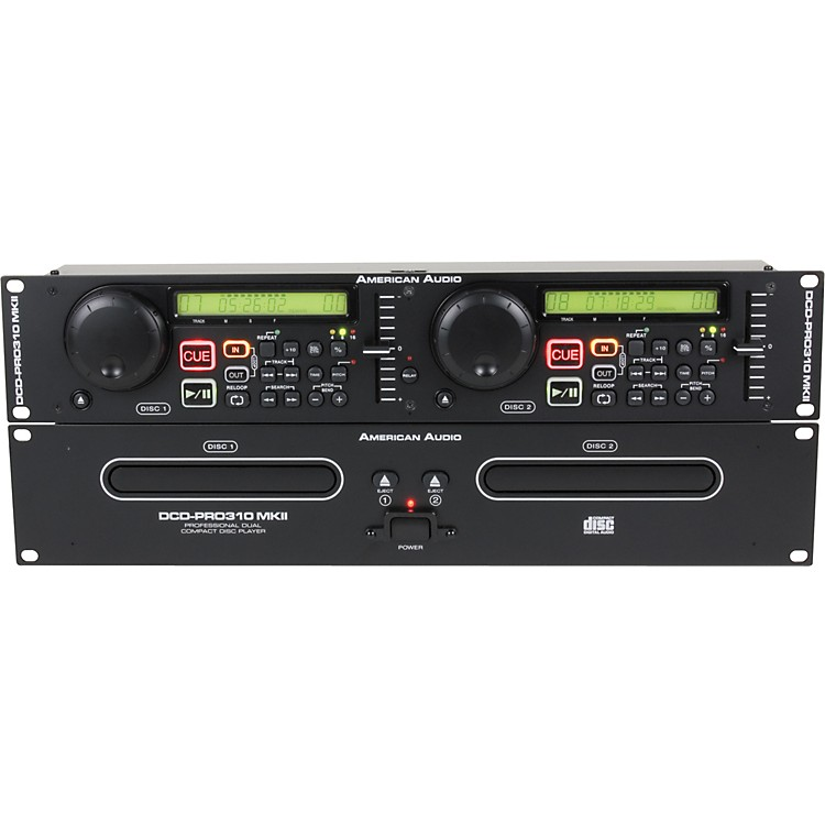 American AudioDCD-Pro 310 MKII Dual CD Player