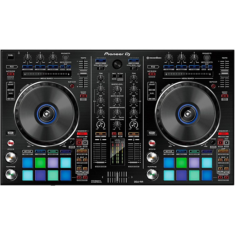 PioneerDDJ-RR Professional 2-Channel DJ Controller for Rekordbox DJ888365900544