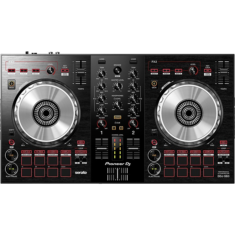 PioneerDDJ-SB3 Serato DJ Controller with Pad Scratch