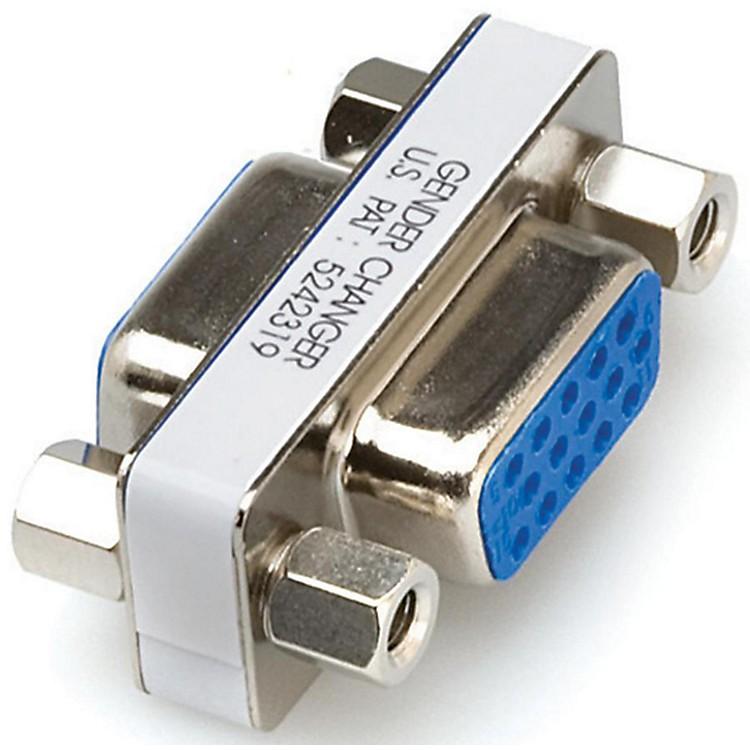 HosaDE15 to DE15 VGA Coupler