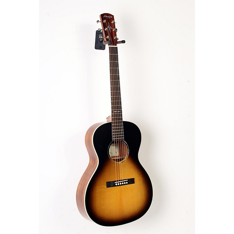 Alvarez DELTA610ETSB Blues Acoustic-Electric Guitar Tobacco Sunburst 888365901510