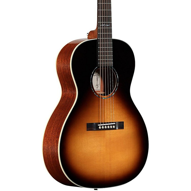 Alvarez DELTA610ETSB Blues Acoustic-Electric Guitar Tobacco Sunburst