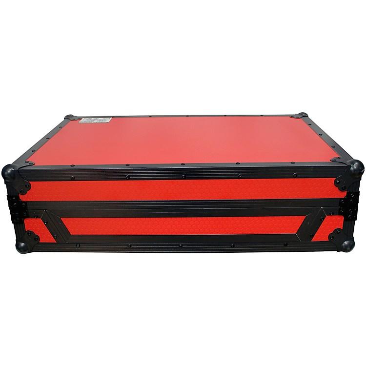 ProXDENON MCX8000 Flight Road Case with Sliding Laptop Shelf and Wheels (XS-MCX8000WLTRB)Black