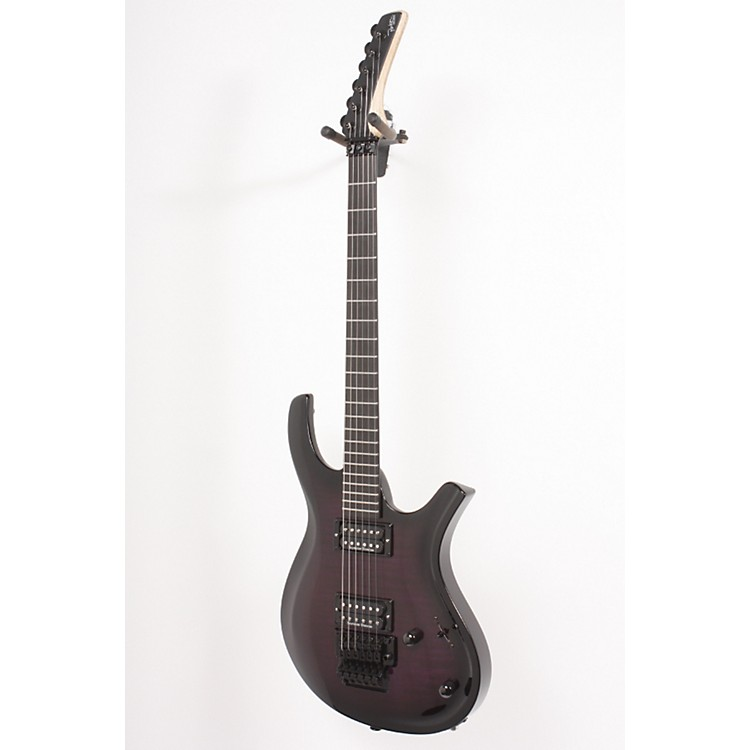 Parker GuitarsDF722FRT Maxx Fly with Floyd Rose Electric GuitarPurple Burst886830583827