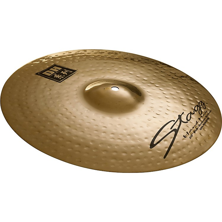 Stagg DH Dual-Hammered Brilliant Medium Ride Cymbal 22 in.