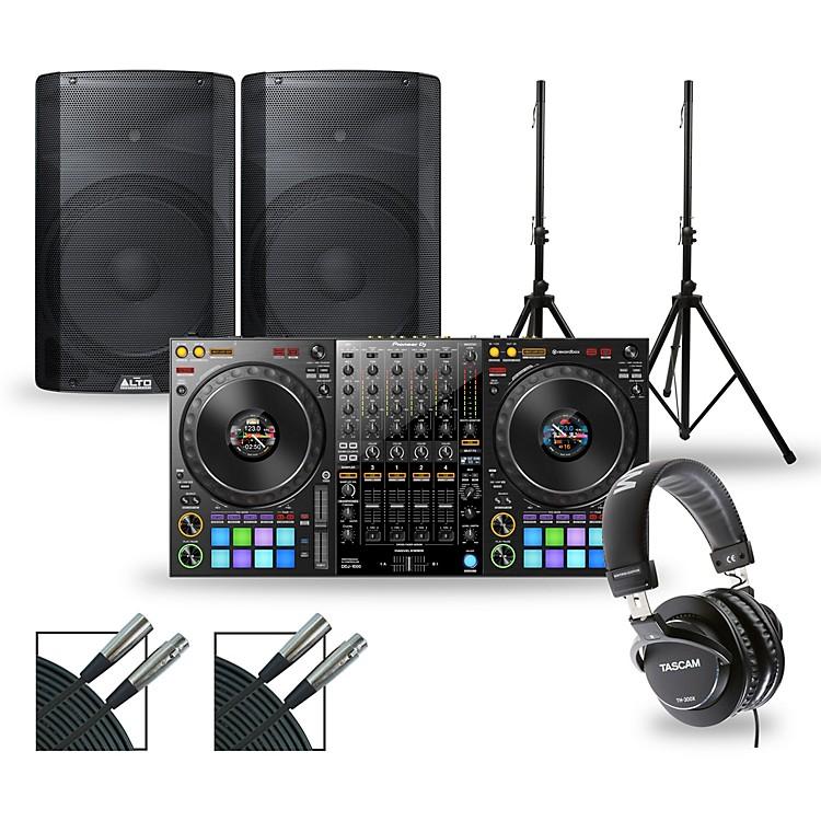 PioneerDJ Package with DDJ-1000 Controller and Alto TX2 Series Speakers15