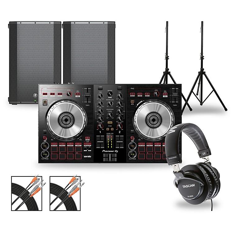 PioneerDJ Package with DDJ-SB3 Controller and Mackie Thump Series Speakers15