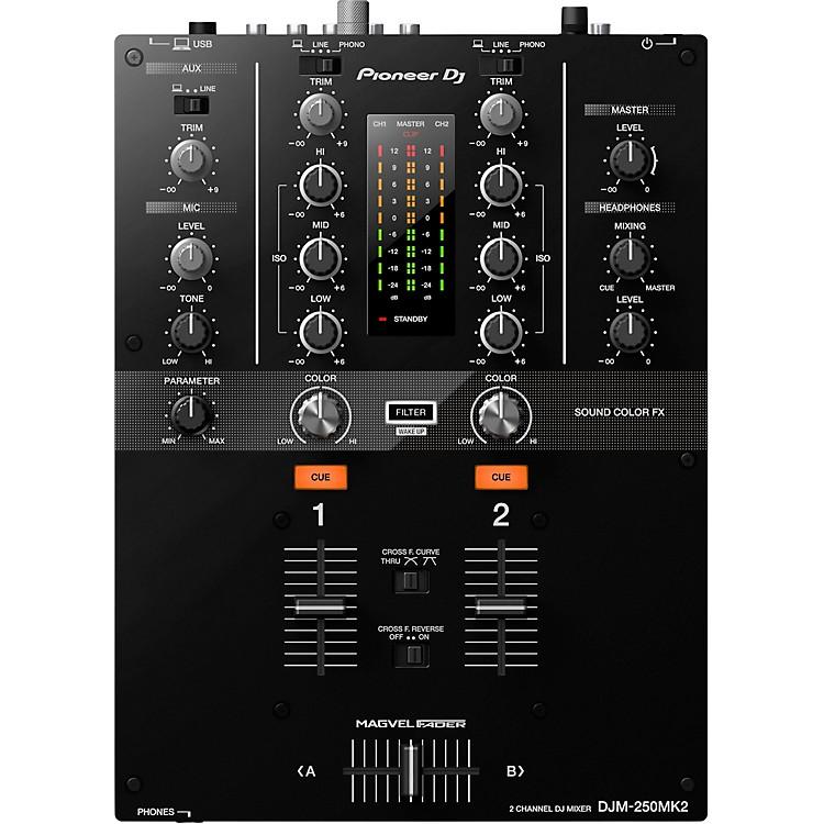 PioneerDJM-250MK2 2-channel DJ Mixer with rekordbox