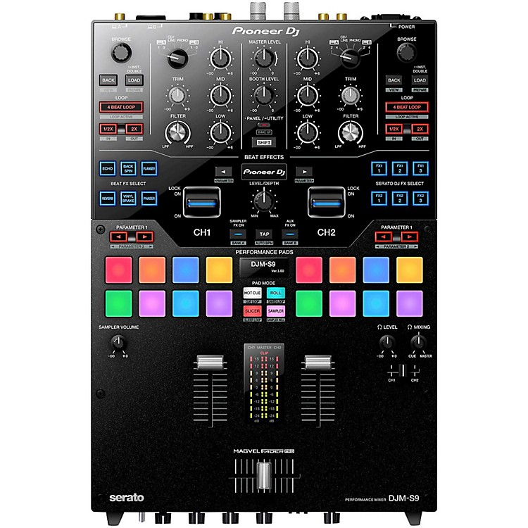 Pioneer DJM-S9 2-Channel Battle Mixer with Performance Pads