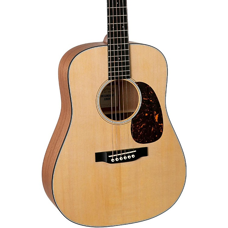 Martin DJR Dreadnought Junior Acoustic Guitar Natural
