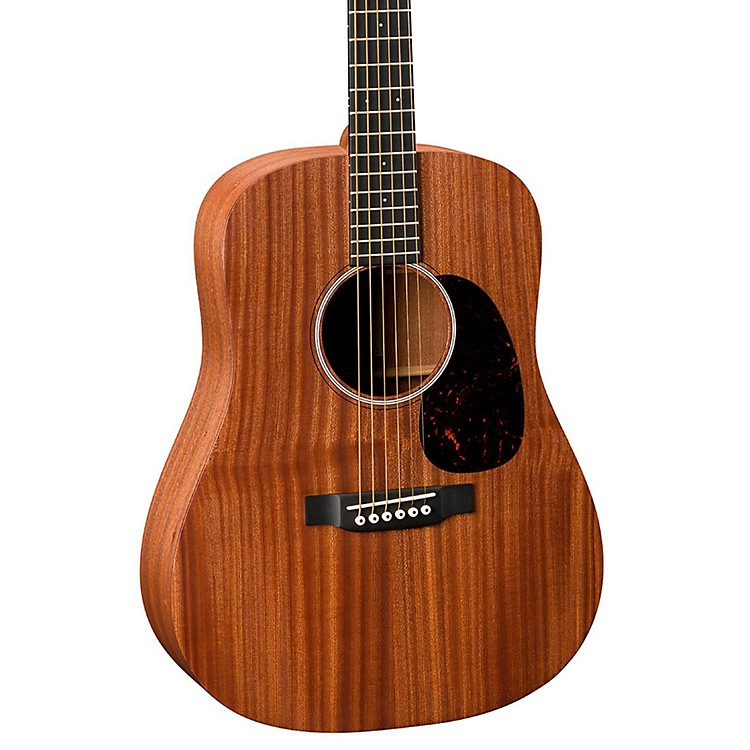 Martin DJR2E Dreadnought Junior Acoustic-Electric Guitar Natural