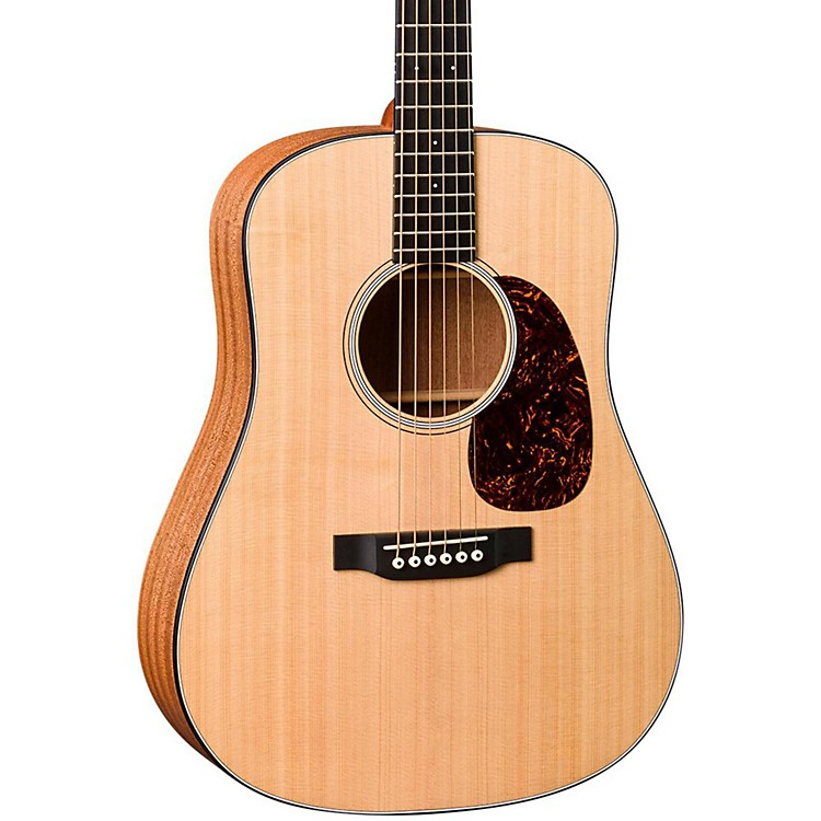 Martin DJRE Dreadnought Junior Acoustic-Electric Guitar Natural