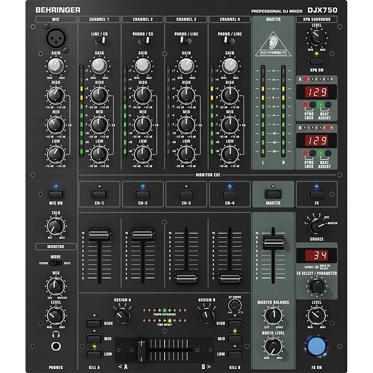 BehringerDJX750 5-Channel Pro DJ Mixer