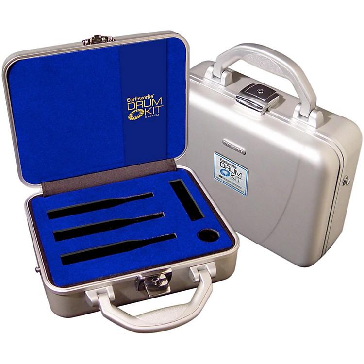 EarthworksDK25-C Aluminum Case for DK25/L & DK25/R with Custom Insert