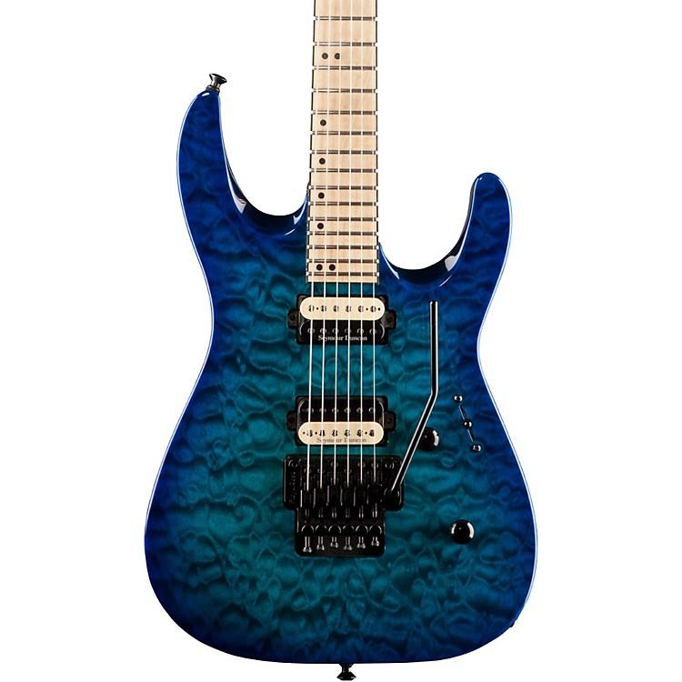 JacksonDK2MQ Dinky Quilt Top Electric GuitarChlorine Burst