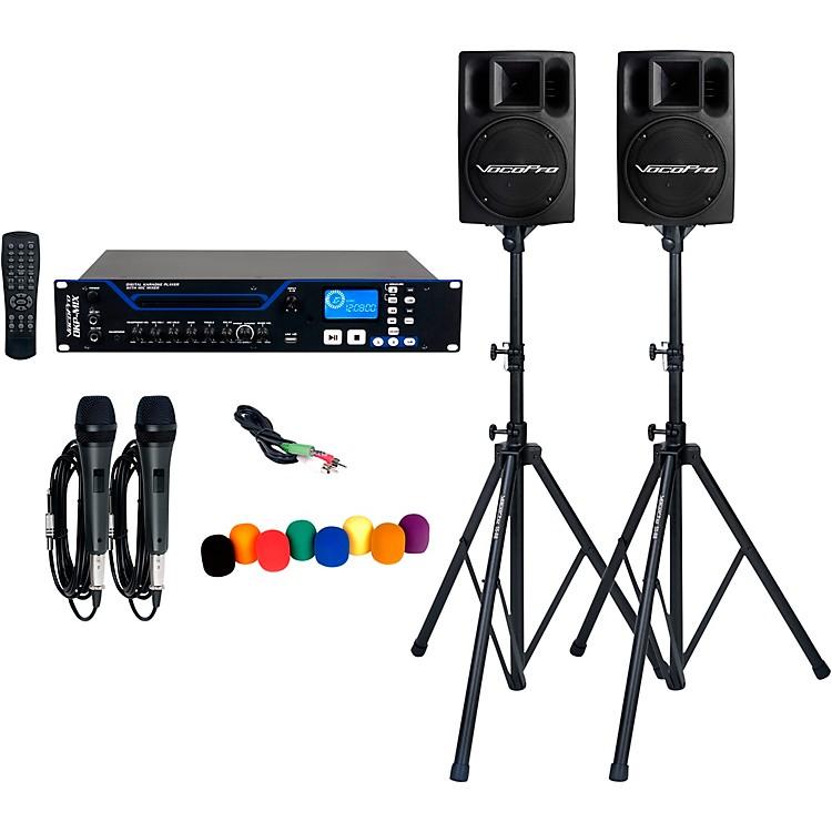 VocoProDKP-MIX PLUS Digital Karaoke Player Bundle