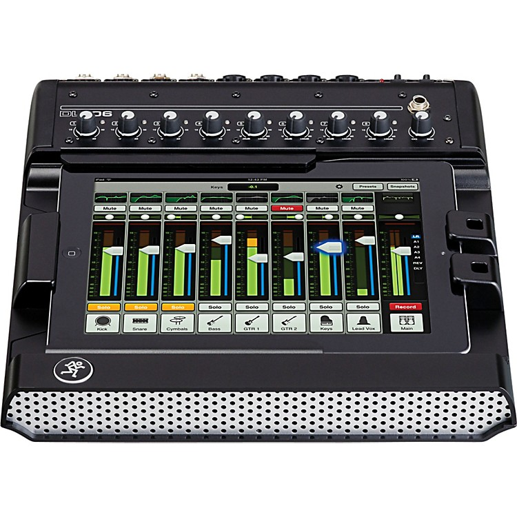 MackieDL806 8-Channel Digital Live Sound Mixer with iPad Control