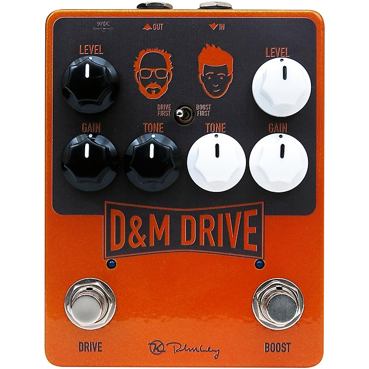 KeeleyD&M Drive Effects Pedal