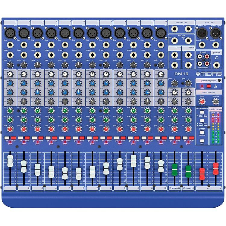 MidasDM16 16-channel Analog Mixer