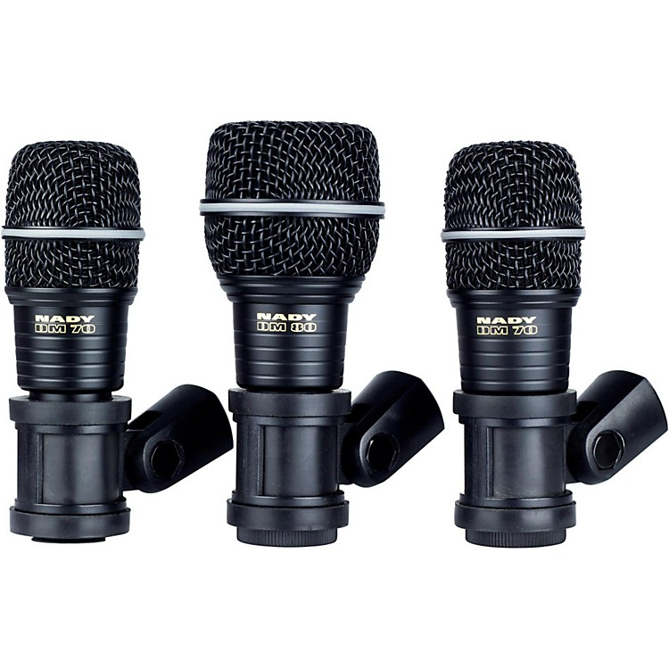 Nady DMK3 3-Piece Drum Microphone Package