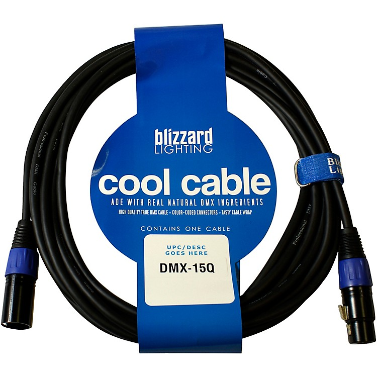 Blizzard DMX Cables 15 ft.