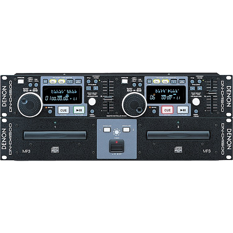 Denon DN-D4500 Dual CD/MP3 Player  889406507319