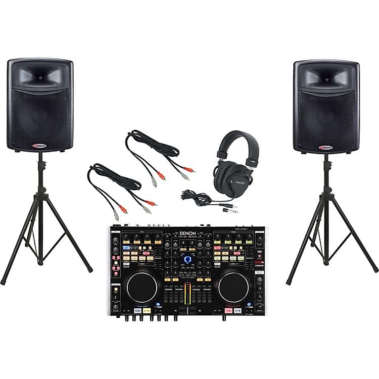 DenonDN-MC6000 / Harbinger APS15 DJ Package