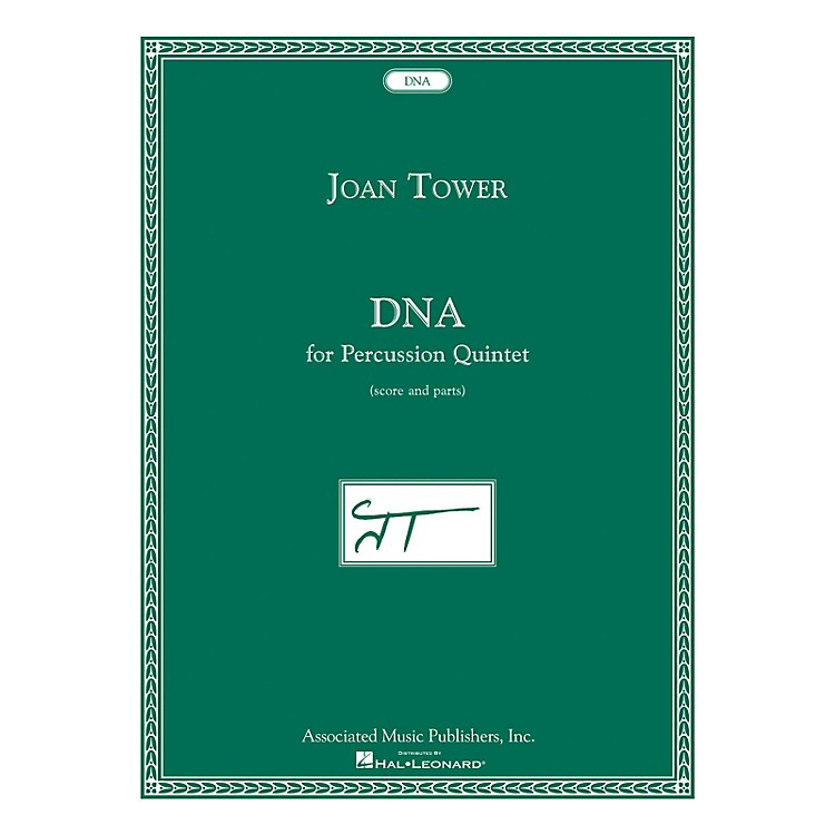 AssociatedDNA (for Percussion Quintet) Ensemble Series Composed by Joan Tower