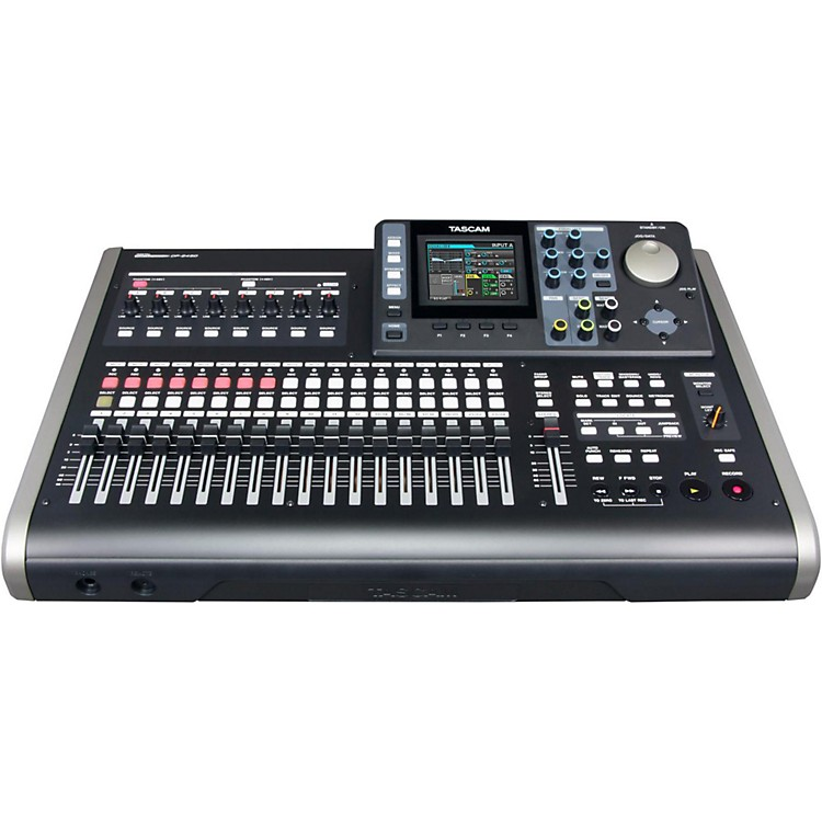 Tascam DP-24SD 24-Track Digital Portastudio  888365912387