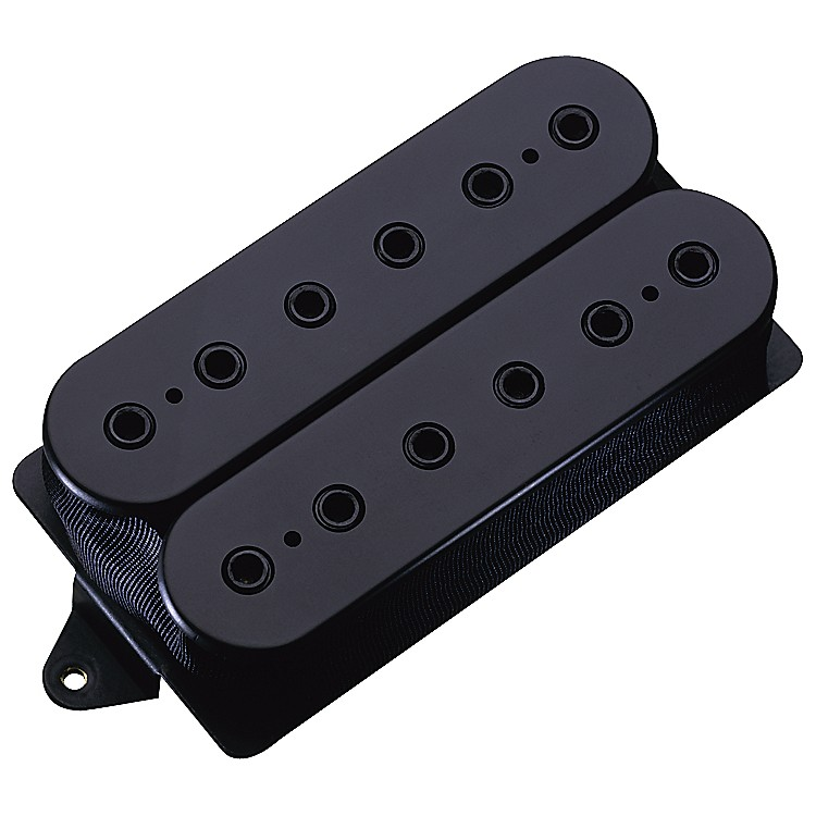 DiMarzio DP158 EVOLUTION NECK PICKUP BLACK AND WHITE REGULAR Black Regular