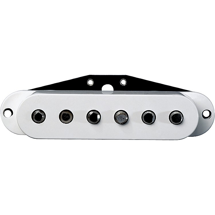 DiMarzio DP176 True Velvet Single Coil Electric Guitar Bridge Pickup White