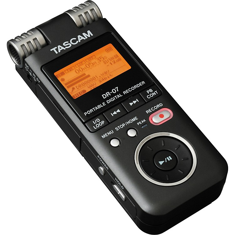 Tascam DR07 Handheld Digital Recorder Regular 886830725005