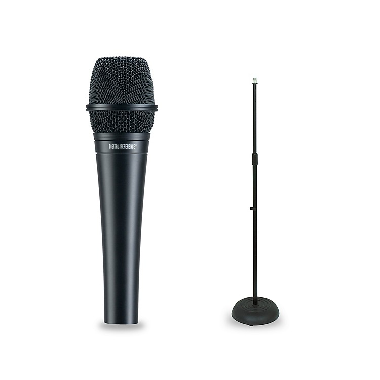 digital reference drv200 dynamic lead vocal microphone mic stand package music123. Black Bedroom Furniture Sets. Home Design Ideas