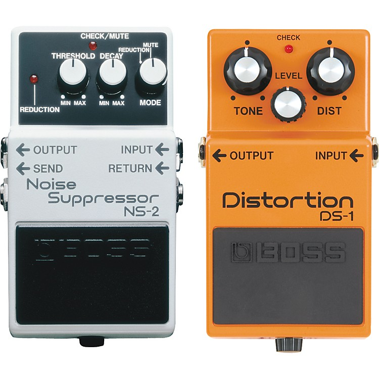 Boss DS-1 and NS-2 Guitar Effects Pedals