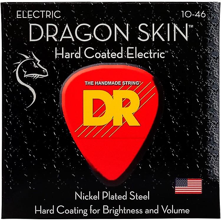DR StringsDSE-10 Dragon Skin Coated Medium Electric Guitar Strings