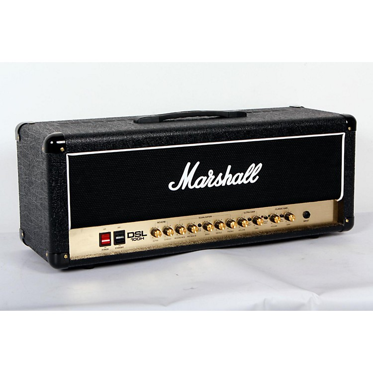 Marshall DSL100H 100W All-Tube Guitar Amp Head Black 888365777047