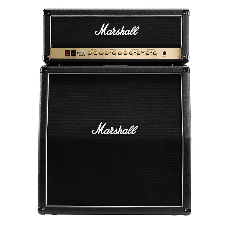 Marshall DSL100H and MX412A 4x12 100W All-Tube Half Stack